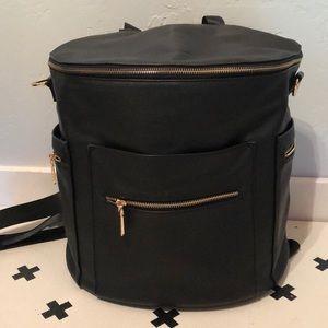 Designer inspired diaper bag/backpack